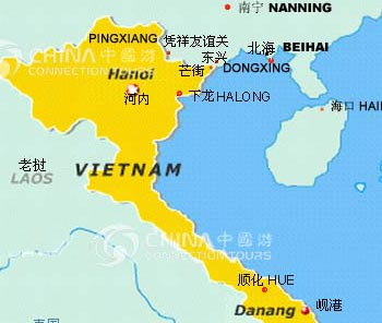 Location Map of Beihai