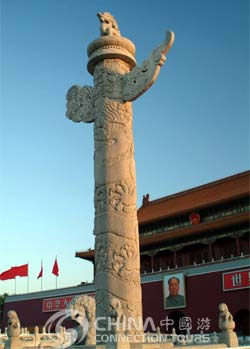 Huabiao of Tian'anmen Square, Beijing Attractions, Beijing Travel Guide