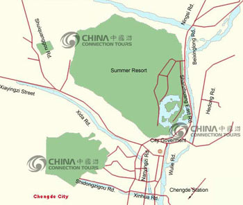 Chengde City Map