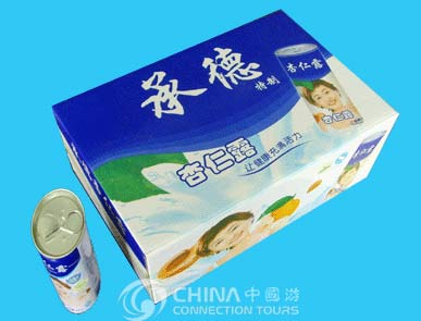 Almonds Drink of Chengde, Chengde Shopping, Chengde Travel Guide