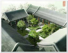 Beijing Courtyard House, masterpiece of Chinese architecture