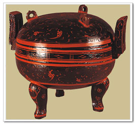 Chinese lacquer ware excavated from Mawangdui, Hunan