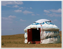 Mongolia Yurt, masterpiece of Chinese architecture