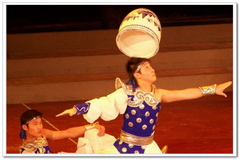 Spinning pots, Chinese Acrobatics