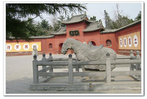 White Horse Temple, the fist Chinese Buddhism temple and masterpiece of Chinese architecture