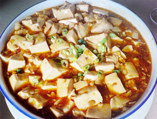 bean chili beancurd sticks simmered with chili bean paste recipes ...