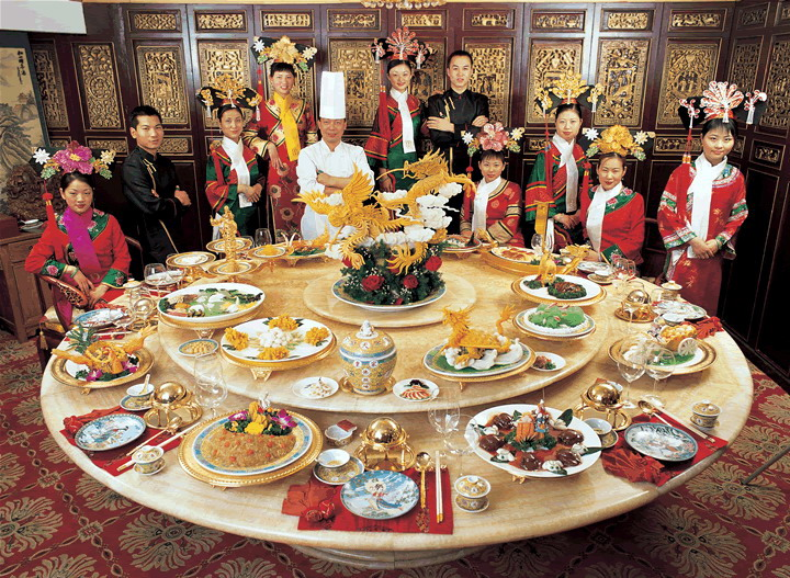 The Chinese Feast, Chinese Cuisine