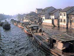 Grand Canal,built in the Sui Dynasty