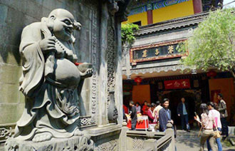 Chongqing Arhat Temple, Chongqing Attractions, Chongqing Travel Guide
