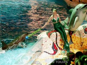 Sun Asia Ocean World, Dalian Attractions, Dalian Travel Guide