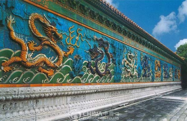Nine Dragon Screen, Datong attractions, Datong Travel Guide