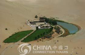 Singing Sand Dune & Crescent Moon spring, Dunhuang Attractions, Dunhuang Travel Guide