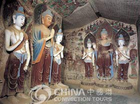 Sculptures in the Mogao Grottoes, Dunhuang Attractions, Dunhuang Travel Guide