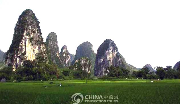 Guilin Grotesque Peak Village, Guilin Attractions, Guilin Travel Guide