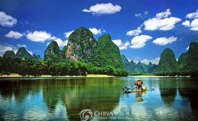 Guilin Yellow Cloth Shoal, Guilin Attractions, Guilin Travel Guide