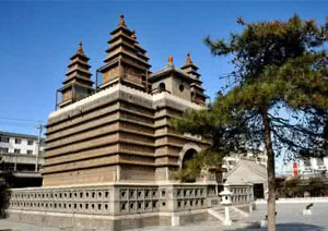 Hohhot Five Pagoda Temple, Hohhot Attractions, Hohhot Travel Guide
