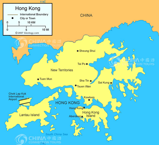 Hong Kong Map, Hong Kong Maps, Hong Kong Travel Guide