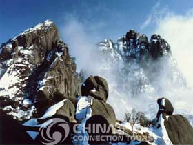 HuangshanTiandu Peak, Huangshan Attractions,  Huangshan Travel Guide