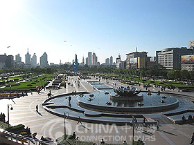 Spring City Square, Jinan Attraction, Jinan Travel Guide