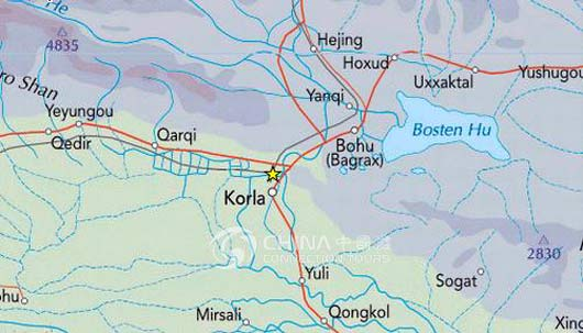 Korla China  City pictures : Korla Location Map, China Korla Location Map Korla Travel Guide