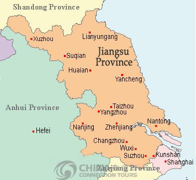 Lianyungang Location Map China Lianyungang Location Map - Huaian map