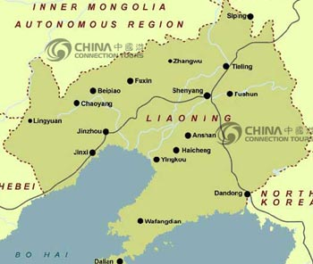 Liaoning Location Map
