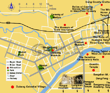 Luoyang City Map