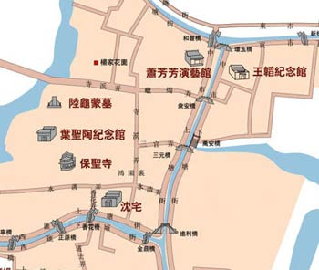 Luzhi Tourist Map