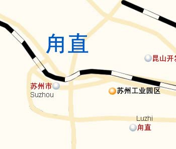 Luzhi Transportation Map