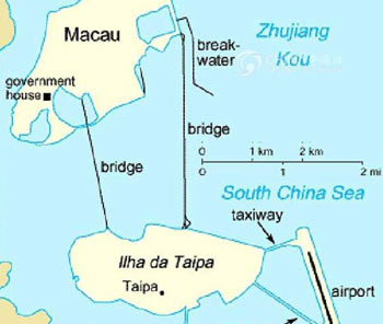 Macau City Map, Macau Maps