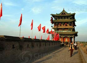Ancient City Walls Gates of Pingyao