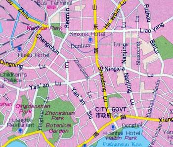 Qingdao Maps China Qingdao Maps Qingdao Travel Guide