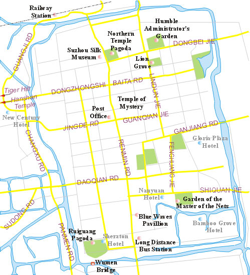suzhou city map china suzhou city map suzhou travel guide Seoul Korea Map suzhou city map