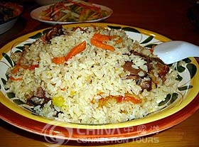 Fried Rice, Urumqi Restaurants, Urumqi Travel Guide