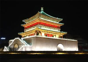 Xian Bell Tower, Xian Attractions, Xian Travel Guide