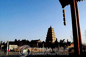 Xian Big Wild Goose Pagoda, Xian Attractions, Xian Travel Guide