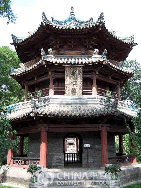 Phoenix pavilion of Xian Great Mosque, Xian Attractions, Xian Travel Guide