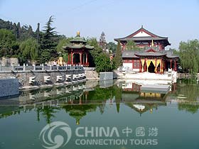Nine-dragon pool of Huaqing Hot Spring, Xian Attractions, Xian Travel Guide