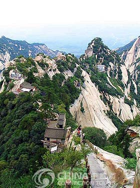 Huashan Mountain, Xian Attractions, Xian Travel Guide
