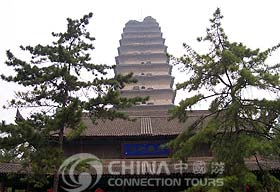 Xian Small Wild Goose Pagoda, Xian Attractions, Xian Travel Guide