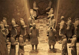 Terra-cotta Warriors and Houses, Xian Attractions, Xian Travel Guide