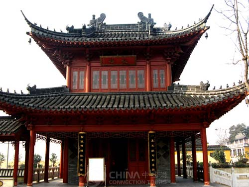 Pavilion in Jiao Shan, Zhenjiang Attractions, Zhenjiang Travel Guide