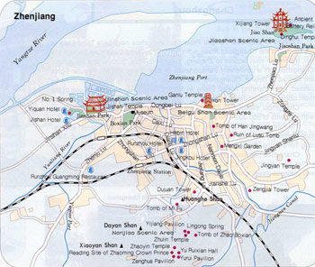 Zhenjiang City Map