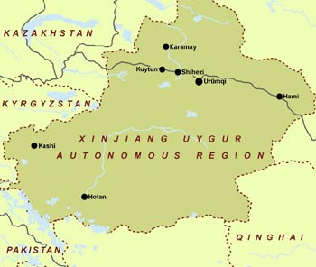 Map Xinjiang.Xinjiang Maps China Xinjiang Maps Xinjiang Travel Guide